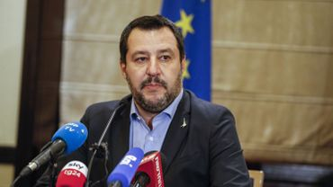 """Concernant le budget italien, MatteoSalvini s'est dit à nouveau """"optimiste""""."""
