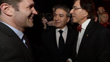 Paul Magnette et Emir Kir, ici en 2014