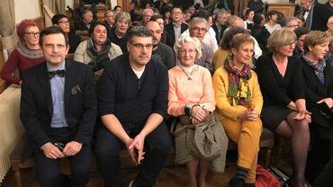 Richard Fournaux était assis parmi les citoyens dinantais pour assister à l'installation du nouveau conseil communal de Dinant et de son nouveau bourgmestre Axel Tixhon.