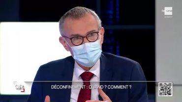 """Frank Vandenbroucke réagit aux déclaration du Collectif """"Bezet La Monnaie Occupée""""."""