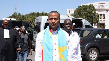 Moïse Katumbi à Lubumbashi (Congo) le 13 mai 2016.