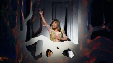 """Chantal Goya en 2008 au Palais des Congrès à Paris dans son spectacle """"Le Mystérieux voyage de Marie-Rose"""""""