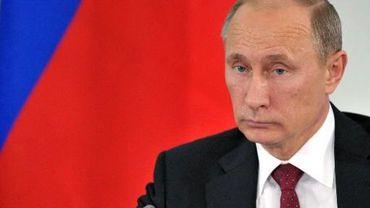 Le président russe Vladimir Poutine, le 13 juillet 2013