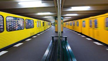 Le métro de Berlin est le plus rapide du monde.