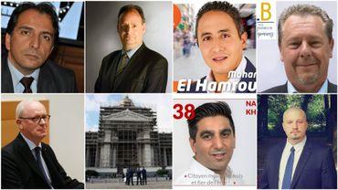 Sept cas à Bruxelles.