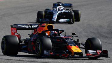 Max Verstappen et Lewis Hamilton en 2019