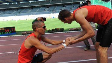 Kevin Borlée champion de Belgique du 400m, devant son frère Dylan