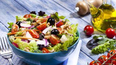 Les salades composées, une alternative toujours light?
