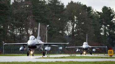 Les F-16 belges interceptent des avions russes au-dessus de la mer Baltique
