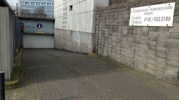 Une extension est prévue au parking des Brigittines.