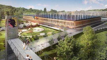 La nouvelle MAP (pour Maison Administrative Provinciale) devrait s'installer rue Henry Blès, à Salzinnes. Un projet porté par le bureau d'architectes Samyn & Partners.