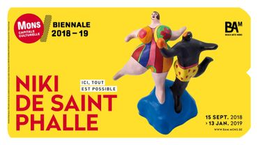 Niki de Saint Phalle à Mons
