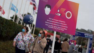 Covid-19: la France franchit le cap des 10.000 nouveaux cas en 24heures