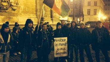 Ils sont entre 250 et 300 samedi matin au départ de l'église du Béguinage