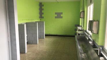 Des toilettes rénovées et accueillantes