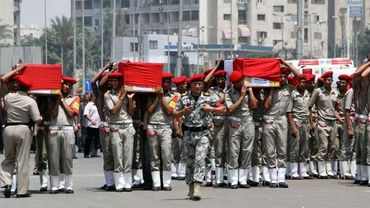 Funérailles des gardes-frontières