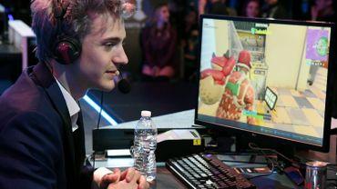 "Tyler ""Ninja"" Blevins, joueur professionnel de Fortnite."