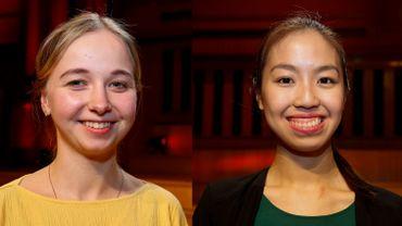Eva Rabchevska et Shannon Lee en finale du Concours Reine Elisabeth
