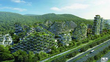 Liuzhou Forest City, par Stefano Boeri.