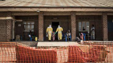 Un centre de traitement des malades d'Ebola en RDC