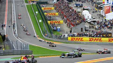 La F1 à Spa-Francorchamps