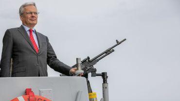 Didier Reynders n'exclut pas le retour de F-16 belges pour lutter contre l'Etat islamique au Moyen-Orient