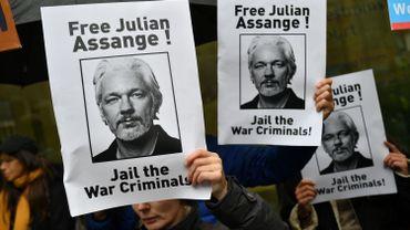 Des médecins inquiets de l'état de santé de Julian Assange, détenu à Londres