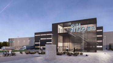 La future implantation de Cainiao à Liège Airport