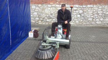 Le mini-tracteur de Gunther Ronsijn