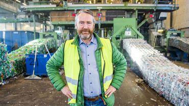 Kjell Olav Maldum, directeur d'Infinitum, société créée par les producteurs et les distributeurs pour gérer la consigne.