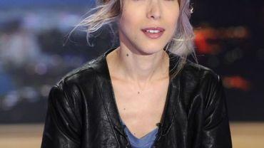 Tristane Banon sur le plateau de TF1