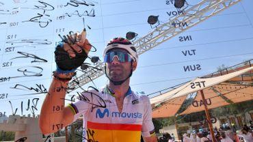 Valverde n'est pas près de raccrocher son vélo au clou