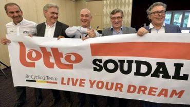 Soudal remplace Belisol comme sponsor principal chez Lotto