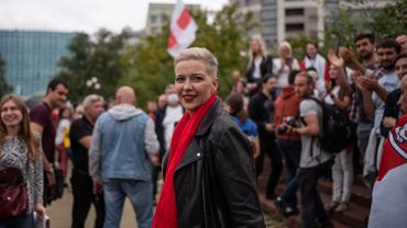 """L'opposante biélorusse Maria Kolesnikova va porter plainte pour """"enlèvement"""" et """"menaces de mort"""""""