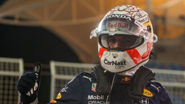 Max Verstappen s'élancera de la pole position du premier GP de la saison