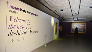 Vue de l'entrée du Musée Fin-de-Siècle