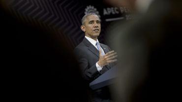 """Barack Obama veut """"parvenir à un règlement avant la fin de (son) mandat"""""""