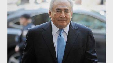 Dominique Strauss-Kahn arrive au tribunal de New York, le 1er juillet 2011