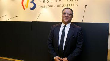 Rachid Madrane, ministre en charge notammentdes Maisons de Justice