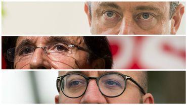 Popularité: Bart De Wever, Charles Michel et Elio Di Rupo en tête