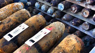 les munitions ont parfois presque 100 ans