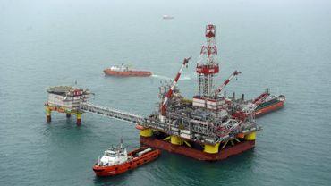 Plate-forme russe se situant dans la mer Caspienne