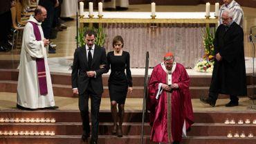 Le couple royal espagnol a assisté à la cérémonie d'hommage