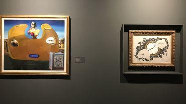 peintre surréaliste belge et Salvador Dali, 90 ans après leur rencontre.