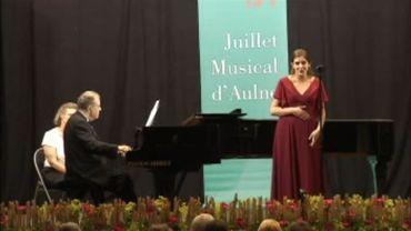 Sheva Tehoval a ouvert le Juillet musical d'Aulne ce vendredi