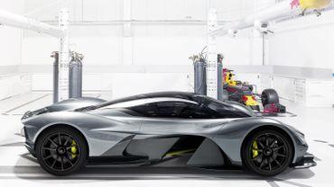 Aston Martin présentera la AM-RB001 à Toronto