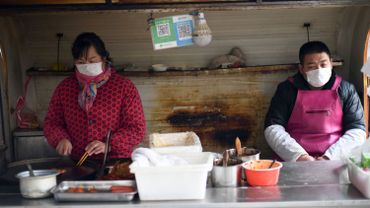 Un snack à Pékin