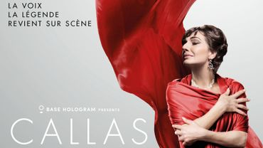 Maria Callas en concert sous forme d'hologramme à Bruxelles en novembre prochain