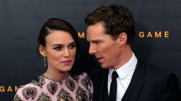 Les Britanniques Keira Knightley et Benedict Cumberbatch