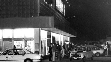 """L'attaque du Delhaize de Braine l'Alleud par ceux qu'on a appelé 'les tueurs du Brabant"""" le 27 septembre 1985."""